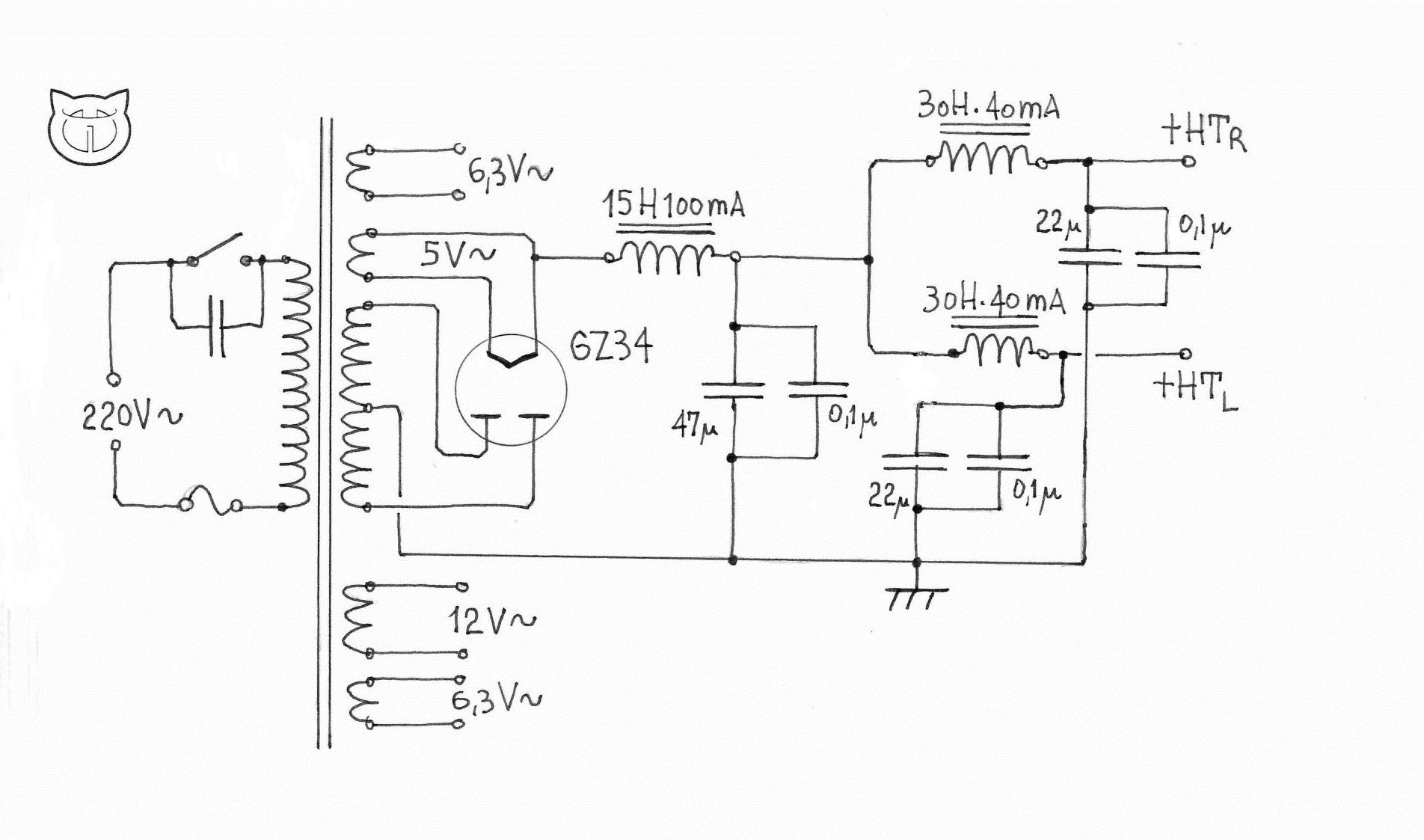 Falstaff Hybrid Circlotron Power Amplifier – Nekolab