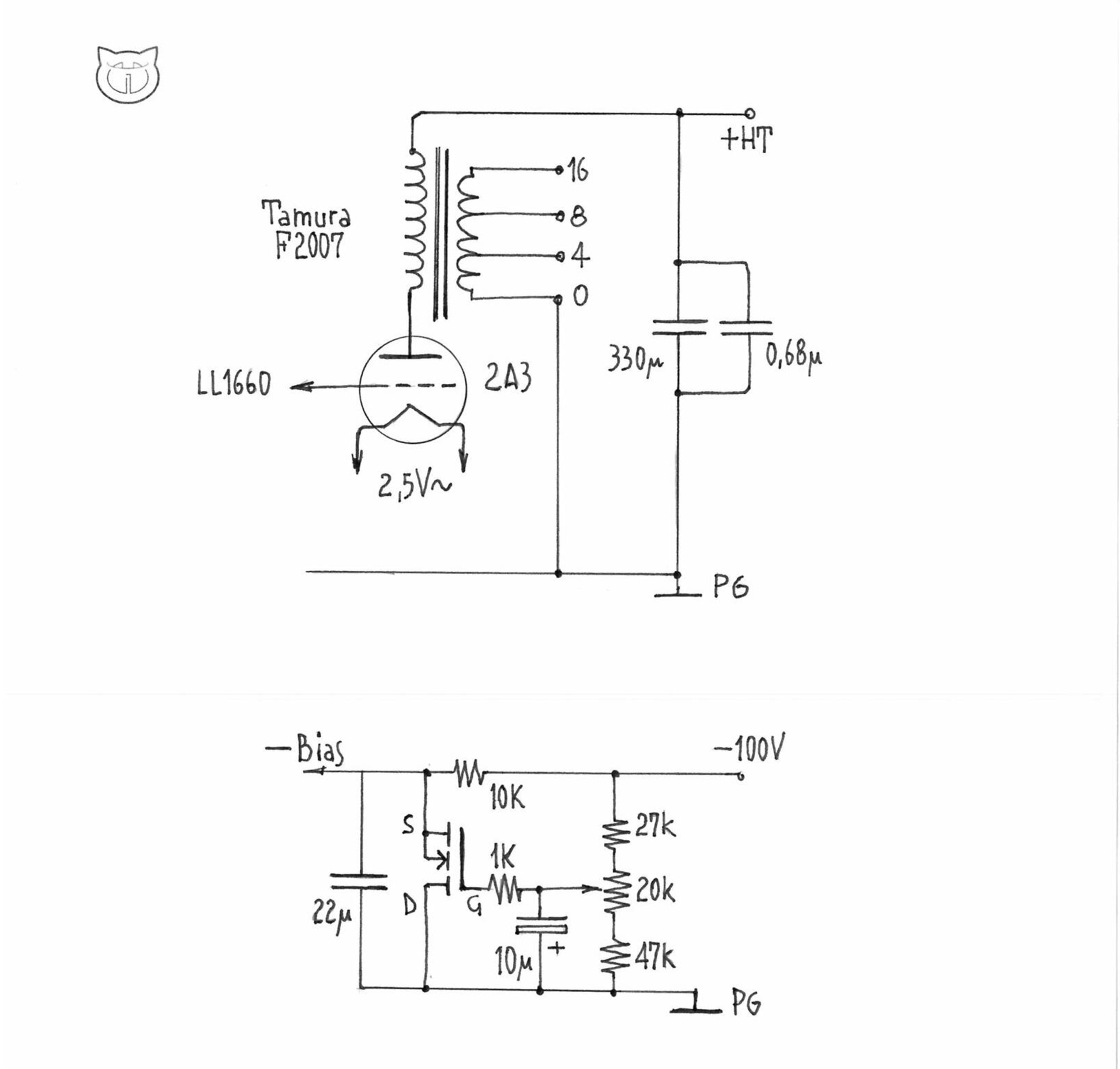 Madama Butterfly Nekolab Constant Current Source Schematic Being Very Simple In Circuit Design Every Part Is Important When Building Quality Dht Se Amp You Should Know The Tonal Characteristic Of Are