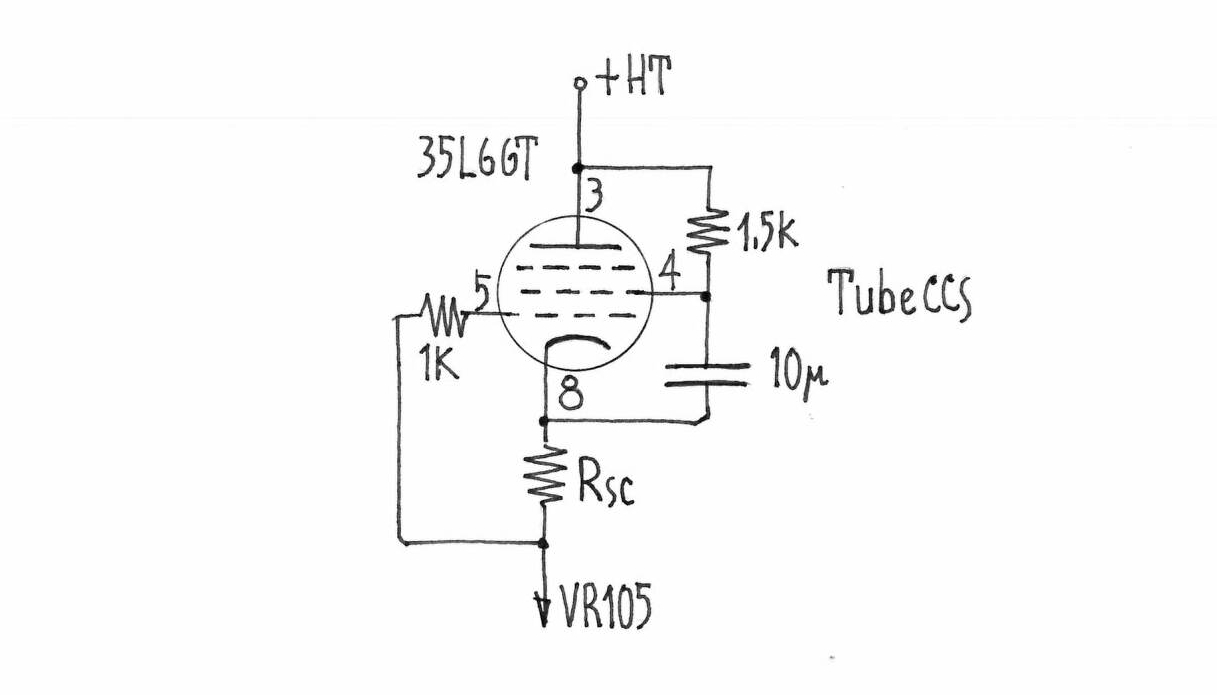 Madama Butterfly Nekolab Constant Current Source Circuit To Get Out The Best Performance From Couple Ef6 Lundahl 1660 I Thought Supply It With A Fine Tube Ccs Voltage Regulator